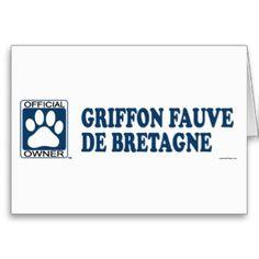 Griffon Fauve De Bretagne Blue Card