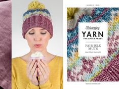 Yarn afterparty 07 Fair Isle hoed