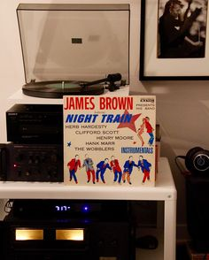 All aboard!  #nighttrain #jamesbrown #godfatheroffunk #vinylrecord #vinylcollector #instavinyl #vinyljunkie #vinylcollection #vinylclub #vinyllove #vinyl #vinylcollective #music #record #recordplayer #projectII #hitachi #vintagehitachi #cratedigger #nowspinning #spinning #vinyladdict #recordcollection #recordcollector #homeaudio #audio #audiophile #hifi by kdecaigny