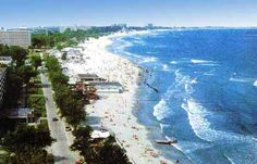The beaches of Mamaia near Constanta Romania  #romania #blacksea #beach