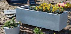 Plantenbak van beton maken - Voor de makers