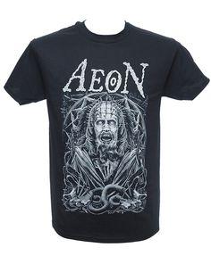 Aeon - Nails Heavy Metal Fashion, Metal Shirts, Menswear, Mens Tops, How To Wear, T Shirt, Nails, Style, Supreme T Shirt
