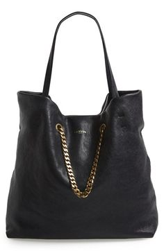 Lanvin 'Medium Carry Me' Leather Tote available at #Nordstrom #wishfulpinning