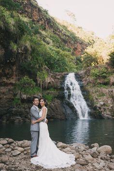 Waimea Valley, Wedding Dresses, Fashion, Waterfalls, Bride Dresses, Moda, Bridal Gowns, Fashion Styles