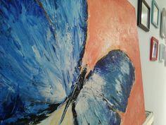 Butterfly Butterfly, Painting, Art, Painting Art, Paintings, Kunst, Bowties, Paint, Draw