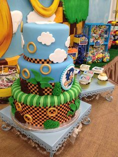 Sonic the Hedgehog Birthday Party Ideas   Photo 1 of 24