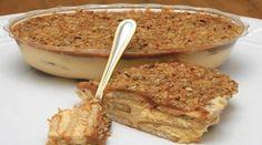 250 gr de margarina  - 250 gr de açúcar  - 4 unidade(s) de gema de ovo  - 2 lata(s) de creme de leite  - 500 gr de amendoim torrado(s)  - quanto baste de essência de baunilha  - 2 pacote(s) de biscoito maisena  - quanto baste de leite  - 2 lata(s) de leite condensado