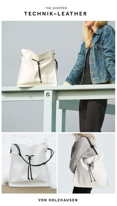 The von Holzhausen Shopper is a 100% animal cruelty free, vegan handbag, sustainable, waterproof, scratch resistant, light-weight and more.