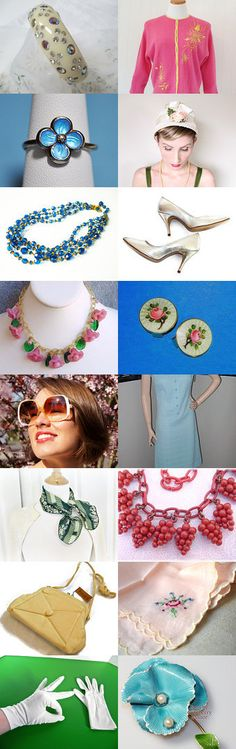 Spring is My Thing - A VogueTeam Treasury by Michele on Etsy--Pinned with TreasuryPin.com