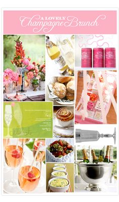 A Lovely Champagne Brunch - Invitation Consultants Blog - Wedding and Party Inspiration