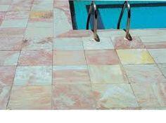 Arenito Vermelho geralmente são usado estas Pedras Para Calçada, em região que o solo é roxo, pois resiste mais a ficar encardida, Nós da