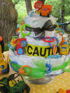 Sweet Sister's Stuff: Construction Themed Baby Shower