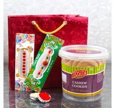 Cashew Cookies with Rakhi