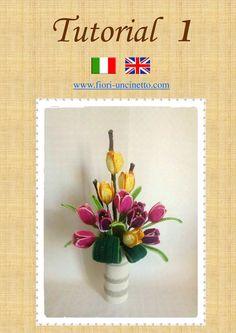 Tulipani Tutorial 1 www.fiori-uncinetto.com