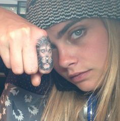 Cara's lion tattoo ❤️❤️