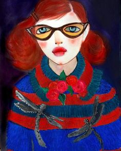 """""""Elspeth's New Coat: The Gucci Chronicles"""" by Helen Downie (Unskilled Worker)"""