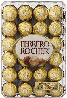 This is what I want .  48-Count Ferrero Rocher Hazelnut Chocolates Gift Box $8.62 (amazon.com)