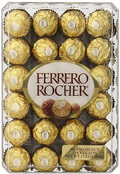 48-Count Ferrero Rocher Hazelnut Chocolates Gift Box $8.62 (amazon.com)