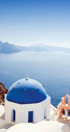 Beauty in Blue, Santorini, Greece