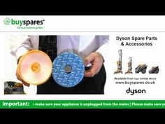 How to change the filters in a Dyson dc08 vacuum cleaner, BuySpares 'how to videos'.