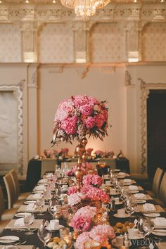 WedLuxe– The Bride Wore Lazaro at this Rosewood Hotel Georgia Wedding |  Follow @WedLuxe for more wedding inspiration!