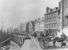 Plymouth barbican in Victorian england