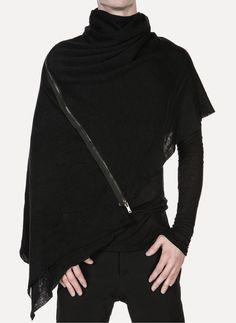 Daniel Andresen - FRODI 712 Linen Zip Scarf https://cruvoir.com/daniel-andresen/3721-frodi-712-linen-zip-scarf