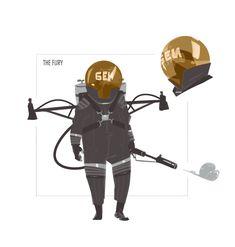 ArtStation - The Cobra Unit, Oliver Odmark Character Concept, Character Art, Concept Art, Character Design, Metal Gear Solid, Dieselpunk, Character Inspiration, Fantasy Art, Animation