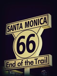 Route 66 . . . .in California.   I would love to do a road trip on what is left of Route 66