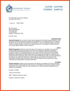 Letter Format Word 16 Best Business Letter Format Example And Images Images On Pinterest