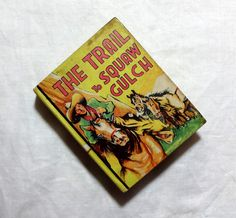 1940 The Trail to Squaw Gulch by Cleve Endicott, Vintage Western Cowboy Story, Vintage Children's Jumbo Book by OakwoodView