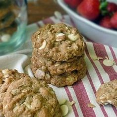 Strawberry Cinnamon Oatmeal Cookies, photo by Life Tastes Good