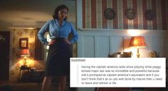 agent carter + text posts // and this is why Marvel is a million times better than DC Peggy Carter, Agent Carter, Marvel Women, Marvel Heroes, Marvel Avengers, Hayley Atwell, And Peggy, Bucky Barnes, Marvel Movies