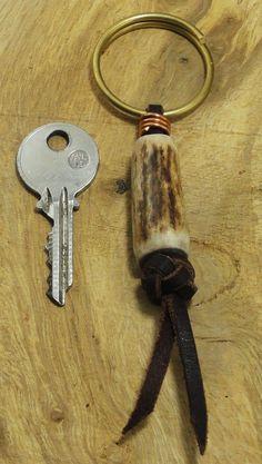result for deer antler craft ideas Deer Antler Jewelry, Deer Antler Crafts, Antler Ring, Antler Art, Deer Skulls, Deer Antlers, Deer Horns Decor, Bone Jewelry, Leather Jewelry