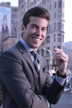 Luis D. Ortiz from Million Dollar Listing NY aka man of my dreams <3