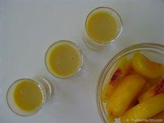 Peach Smoothie Recipes | Raw Vegan Peach Pie Smoothie | Healthy Blender Recipes