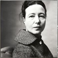 Simone de Beauvoir   Irving Penn - Paris, 1957