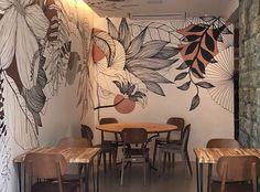 Wall Painting Decor, Mural Wall Art, Diy Wall Art, House Painting, Wall Decor, Bedroom Murals, Bedroom Wall, Wall Art Designs, Wall Design