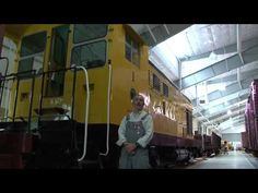 Sept 9, 2012 - Docents now lead tours of the Train Shed Exhibit Building in conjunction with the first two trains on Saturdays and Sundays.