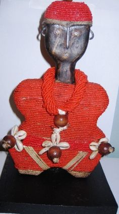 Namji is the people inhabiting an area in the West of the north Cameroon. The Namji tribe is famous for their wooden dolls carved with geometric features. The dolls held by young Namji girls to play and to ensure their fertility, are considered among the finest and the most beautiful dolls in Africa.