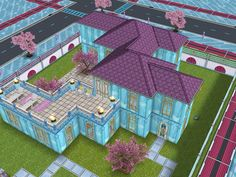 House 30 full view #sims #simsfreeplay #simshousedesign