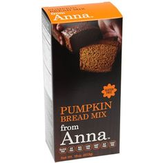 Breads from Anna, Pumpkin Bread, Gluten yeast soy rice corn dairy and nut free, 16 oz >>> Insider's special offer that you can't miss : Baking supplies