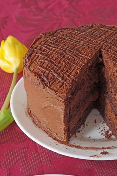 Szofika a konyhában...: Narancsos Dobos-krémmel töltött csokitorta