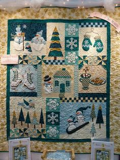 Blessings of Winter. Pattern design by Shabby Fabrics.