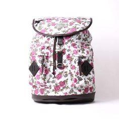 VISVAL JUNO WHITE FLORAL Sidney White, Backpacks, Photo And Video, Floral, Bags, Handbags, Flowers, Backpack, Flower
