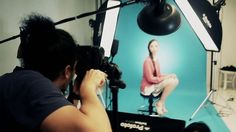 Behind The Scene - PM Photography for Female Magazine Beauty Spread Photoshoot