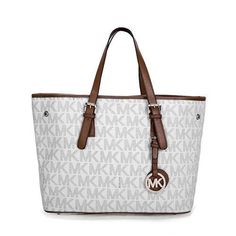 Michael Kors Jet Set Multifunction Logo Travel Large White Totes – Michael Kors STORE and CO. and handbags michael kors michael kors 2018 michael kors gucci michael kors crossbody michael kors kate spade handbags michael kors Carteras Michael Kors, Cute Work Outfits, Stylish Outfits, Fashion And Beauty Tips, How To Become Pretty, Travel Logo, Tote Bag, Crazy Shoes, Michael Kors Jet Set