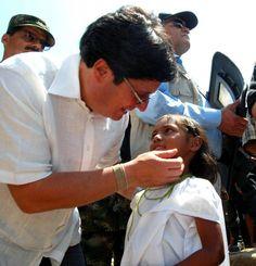 @pachosantosc Apoyando la niñez de nuestro país...