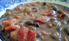 Black Bean Mexican Stew ~ E {Trim Healthy Mama, Vegetarian, Vegan, Grain Free, Gluten Free, Dairy Free}