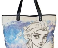 If you're a big Frozen fan you'll love this Frozen Elsa Hand Drawn Tote! spenditonthis.com